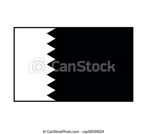 flag of qatar - csp58339024