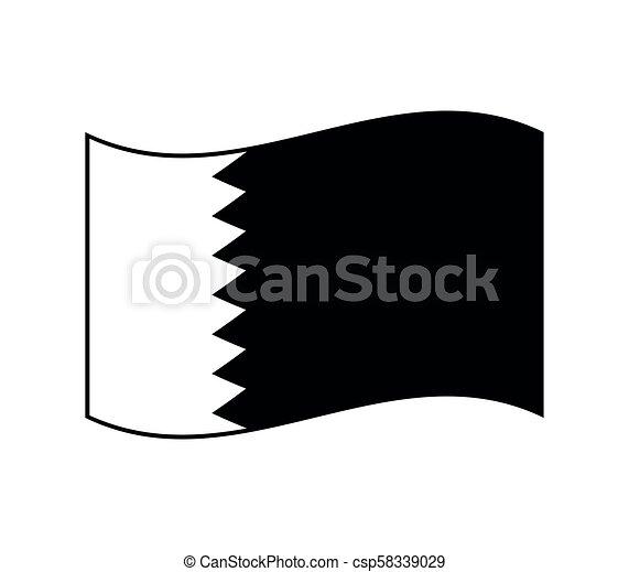 flag of qatar - csp58339029