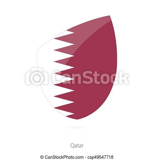 Flag of Qatar. - csp49547718