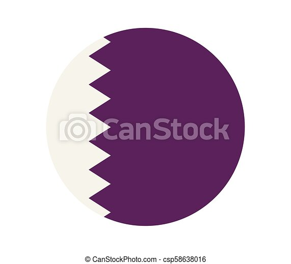 flag of qatar - csp58638016