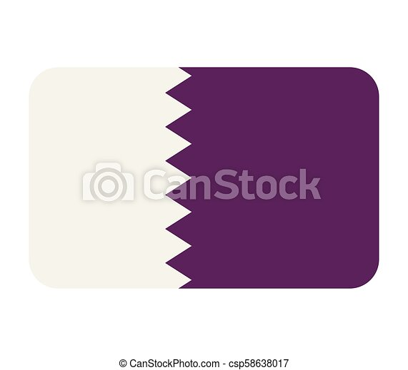 flag of qatar - csp58638017