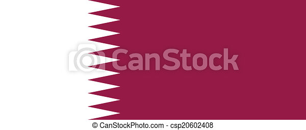 Flag of Qatar - csp20602408