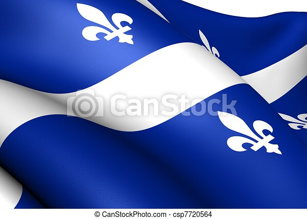 Flag of Quebec - csp7720564