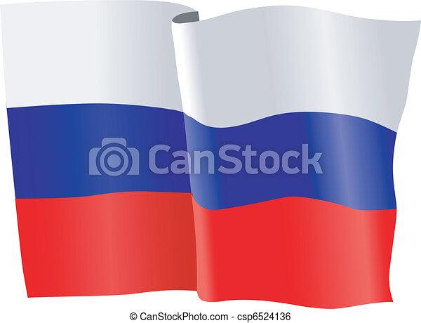 flag of Russia - csp6524136