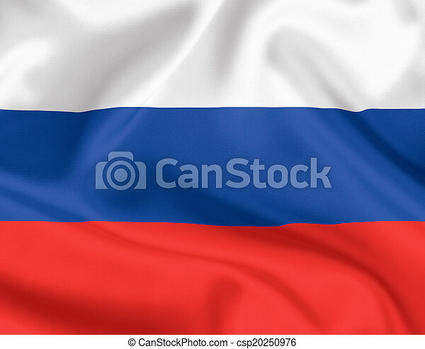 Flag of Russia - csp20250976