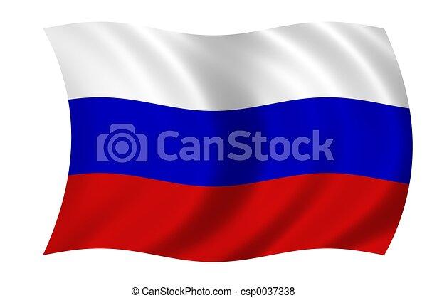 flag of russia - csp0037338