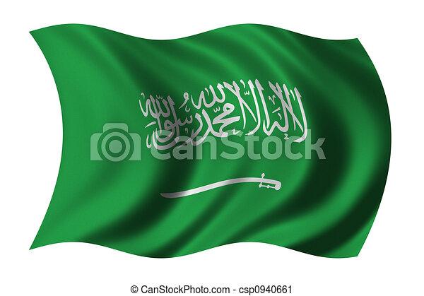 Flag of Saudi Arabia - csp0940661