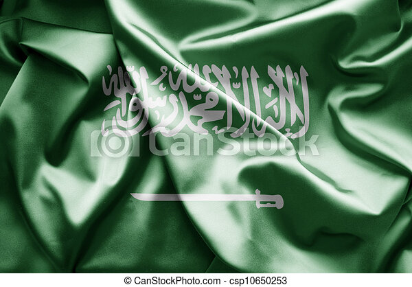 Flag of Saudi Arabia - csp10650253