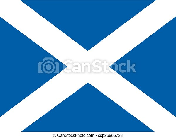 Flag of Scotland - csp25986723