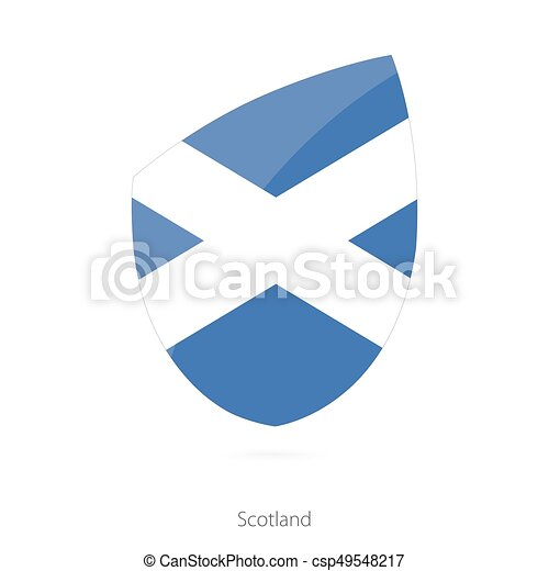 Flag of Scotland. - csp49548217