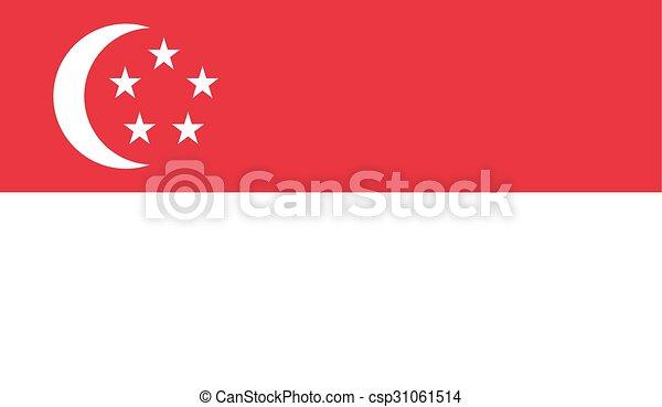Flag of Singapore - csp31061514
