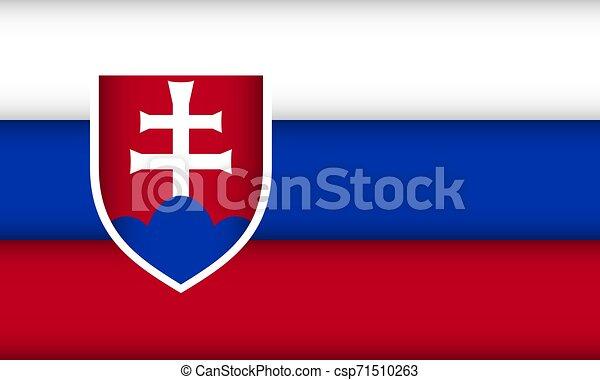 Flag of Slovakia. - csp71510263
