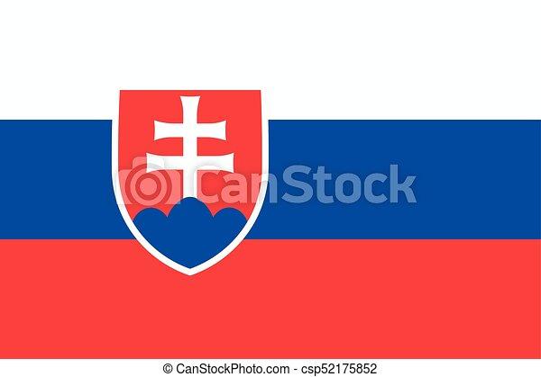 Flag of Slovakia - csp52175852