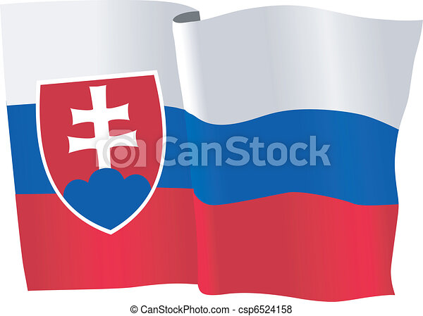 flag of Slovakia - csp6524158