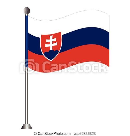 Flag of Slovakia - csp52386823