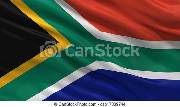 Flag of South Africa - csp17039744