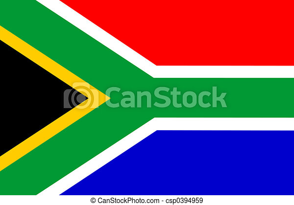 Flag of South Africa - csp0394959