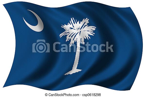 Flag of South Carolina - csp0618298