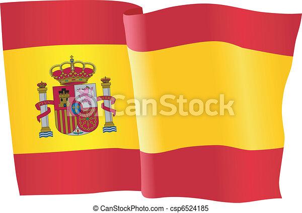 flag of Spain - csp6524185