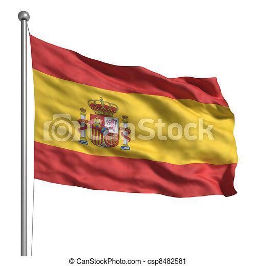 Flag of Spain - csp8482581