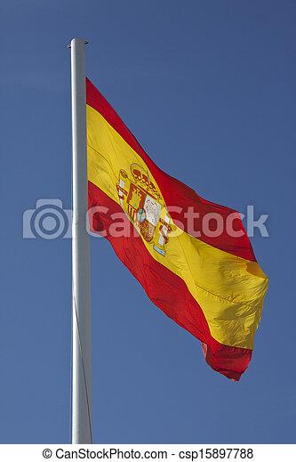 Flag of Spain - csp15897788
