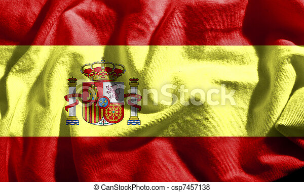 Flag of Spain - csp7457138
