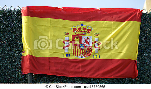 Flag of Spain - csp18730565