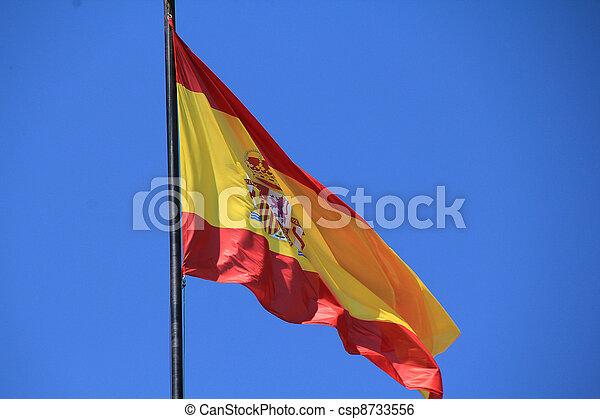 Flag of Spain - csp8733556