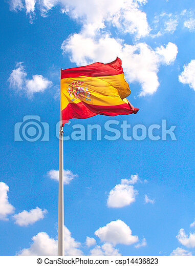 Flag of Spain - csp14436823