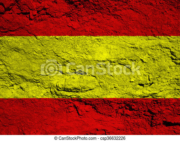 flag of Spain - csp36632226