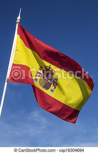 Flag of Spain - csp16304694