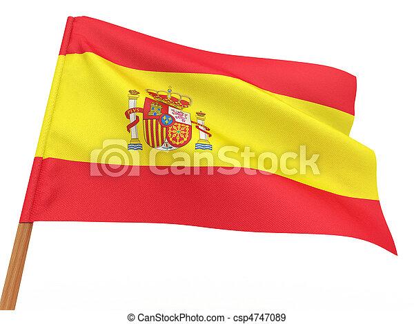 Flag of spain - csp4747089