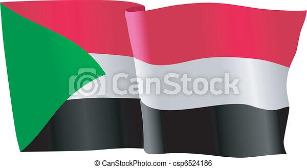 flag of Sudan - csp6524186