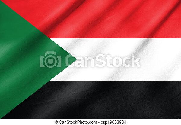 Flag of Sudan - csp19053984