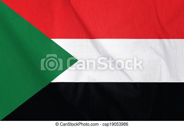Flag of Sudan - csp19053986