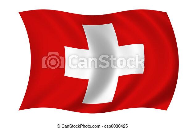 flag of suisse - csp0030425