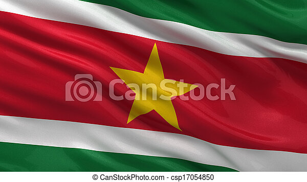 Flag of Suriname - csp17054850