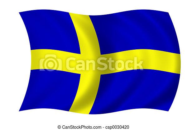 flag of Sweden - csp0030420