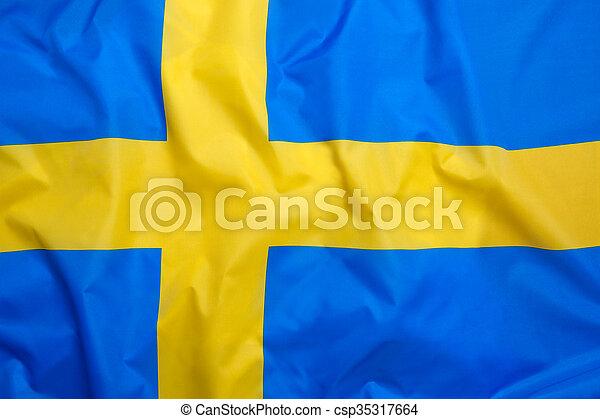 Flag of Sweden - csp35317664