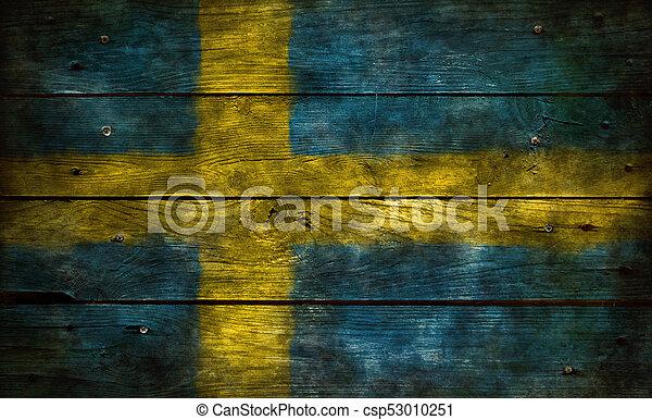 flag of sweden - csp53010251
