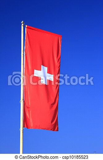 flag of Switzerland - csp10185523