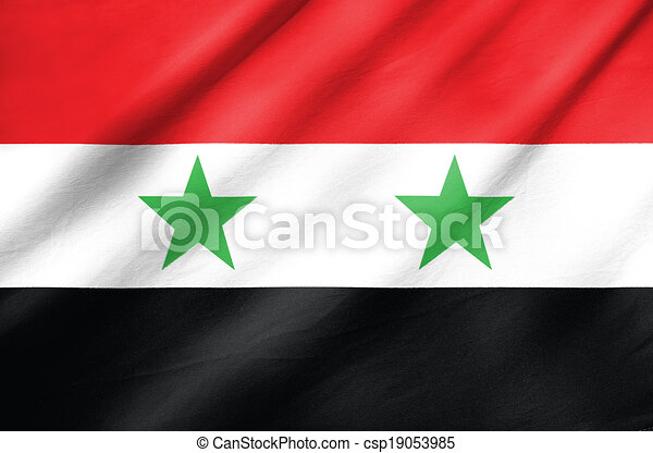 Flag of Syria - csp19053985