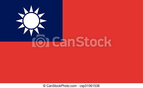 Flag of Taiwan - csp31061536
