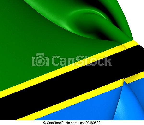 Flag of Tanzania - csp20480820