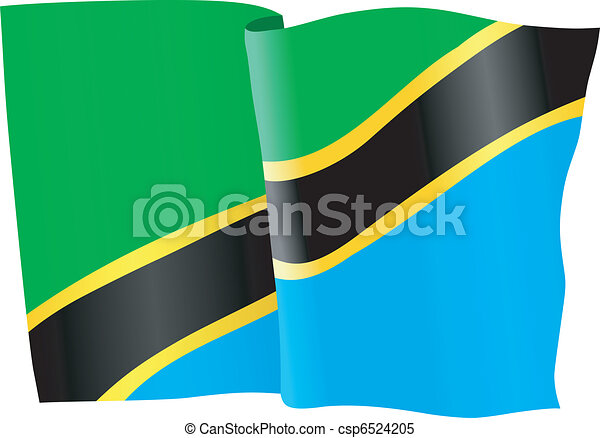 flag of Tanzania - csp6524205