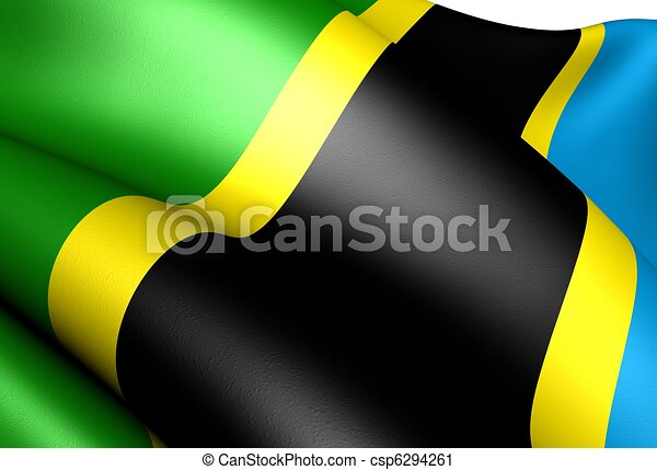 Flag of Tanzania - csp6294261