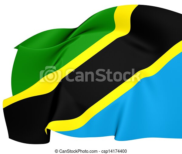 Flag of Tanzania - csp14174400