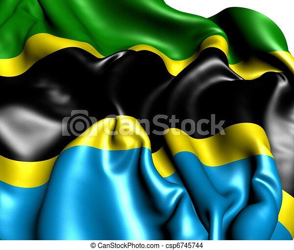 Flag of Tanzania - csp6745744