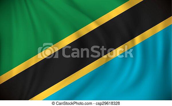 Flag of Tanzania - csp29618328