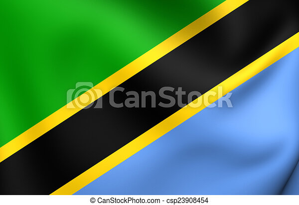 Flag of Tanzania - csp23908454